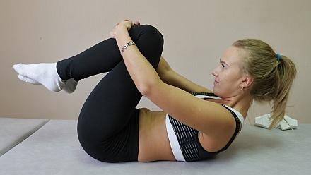 Gymnastikübung für die<br>Stärkung des Immunsystems